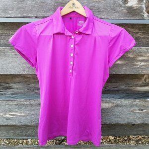 Nike Golf Dry Fit Polo Performance Magenta M